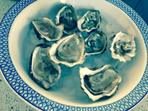 Oleron oysters