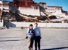 2001 selves, Potala Palace, Lhasa, Tibet