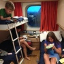 our cabin on Cruise Roma