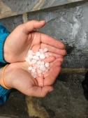 hail stones!