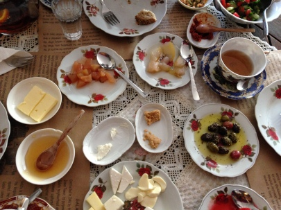 we love Turkish breakfasts