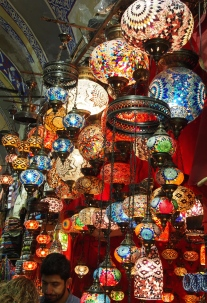 lamps at the Grand Bazaar