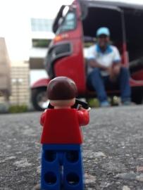 meeting a tuktuk driver