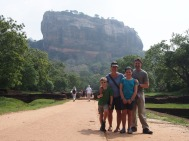 at Sigiriya