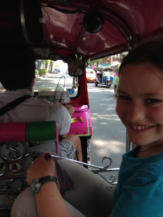 we love seeing life from the back of a tuktuk