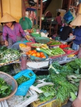 at the market in Hoi An